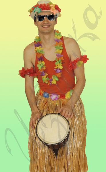 Гавайское ожерелье мастер класс
